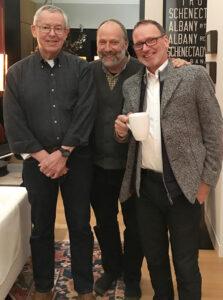 Bob Fox (L), Martin Ping (center), Herbert Dreiseitl (R).
