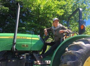 Farmer Aimee Seymour