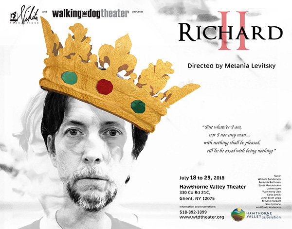 Richard II play poster