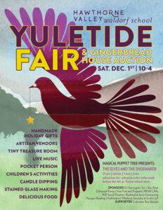 2018 Yuletide Fair poster