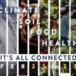 poster for Climate, Soil, Food, Health Workshop