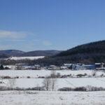 Hawthorne Valley Farm in winter